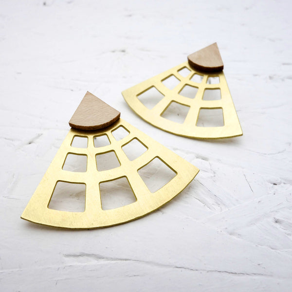 Occhio Earrings [The Pantheon] - Off on a Tangent Shop - 2