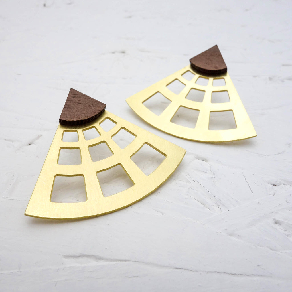 Occhio Earrings [The Pantheon] - Off on a Tangent Shop - 1
