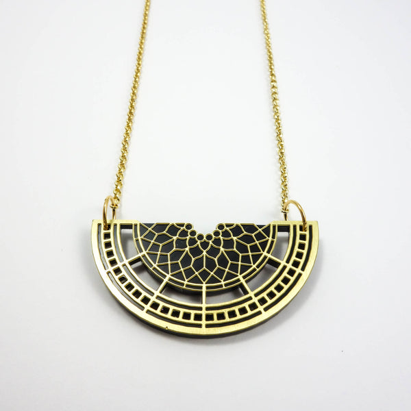 Half Past Necklace Petite [Big Ben Clock Tower]