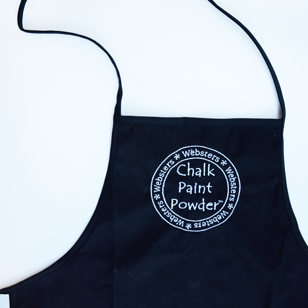Embroidered Websters Apron
