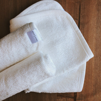 NASH + JONES  Bamboo Washcloths