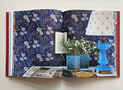 Decors Barbares: The Enchanting Interiors of Nathalie Farman-Farma - Hops Petunia Floral