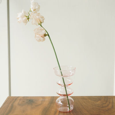 Ripple & Bubble Glass Vases