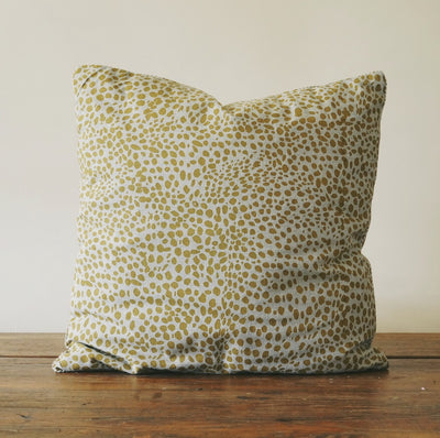 Animal Print Mustard Pillow
