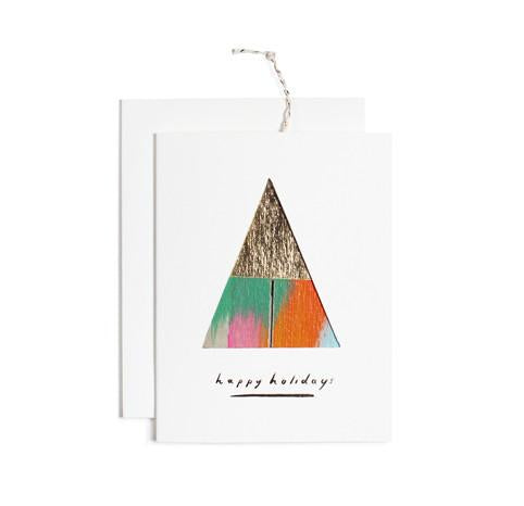 Happy Holidays Card Ornament