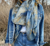 Explore Natural Scarves - Hops Petunia Floral