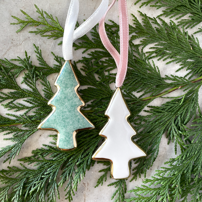 Apricity Ceramics Tree Ornament
