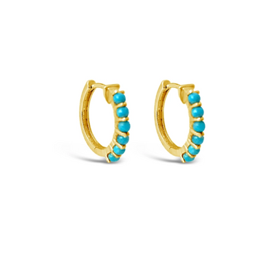 Sierra Winter Karma Hoop Earrings