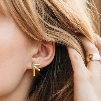 Sierra Winter Bandit Earrings