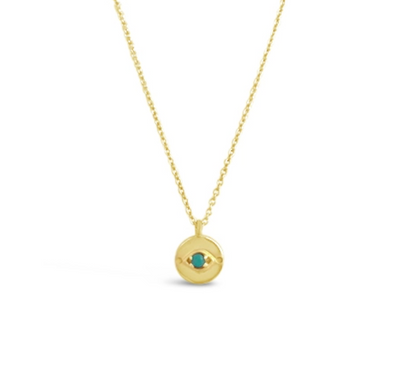 Sierra Winter Evil Eye Necklace