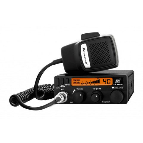 Midland 1001LWX Compact CB Radio with Weather