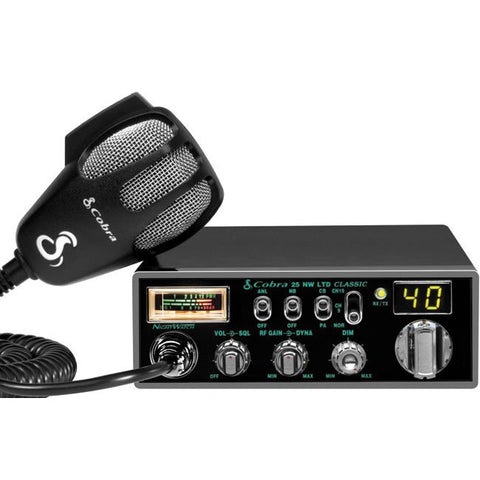 Cobra 25 NW LTD CB Radio with Backlit Display