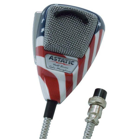 Astatic 636L Stars N Stripes CB Microphone