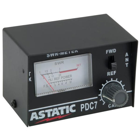 Astatic PDC7 SWR Meter Compact 10 Watts