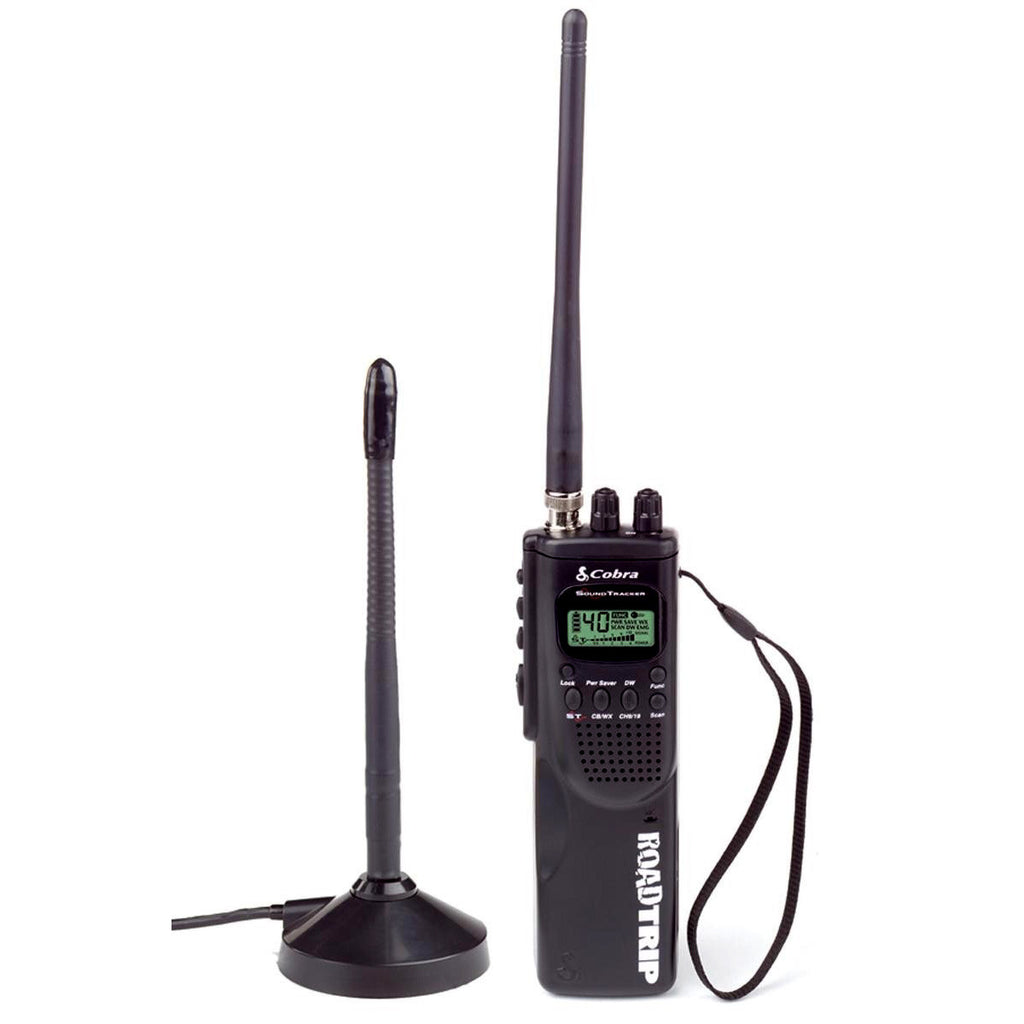Cobra HHROADTRIP Handheld CB Radio With External Antenna