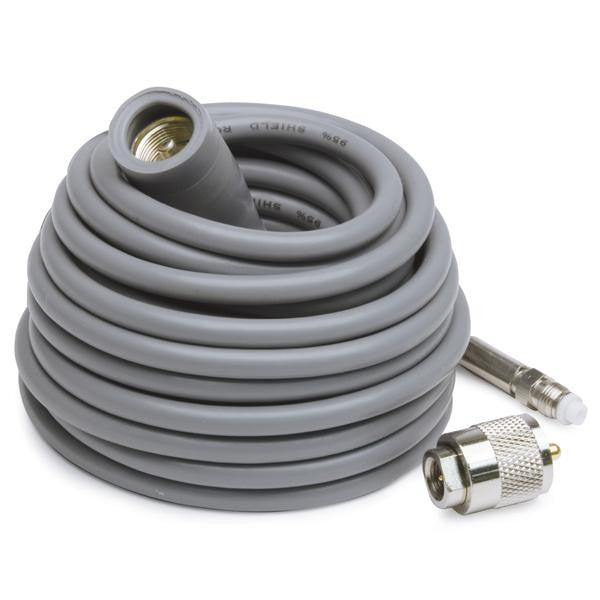 K40 18' Coax Cable with PL259 to FME Connectors
