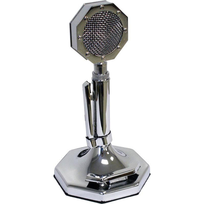 Chrome Base Station CB Microphone