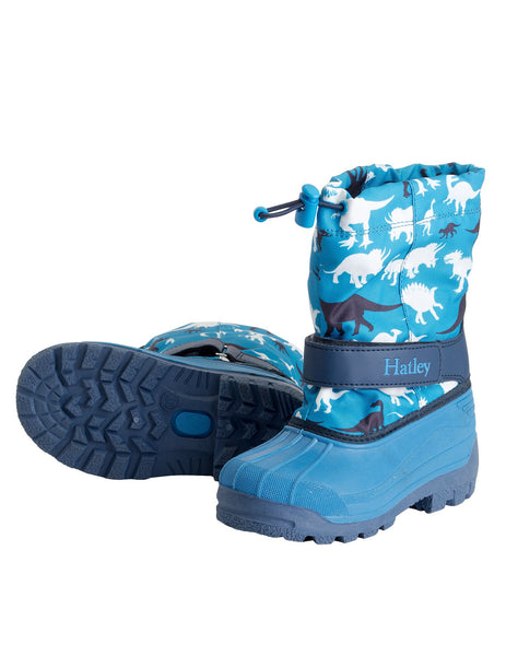 Hatley Silhouette Dino Winter Boots Was £39.99 Now