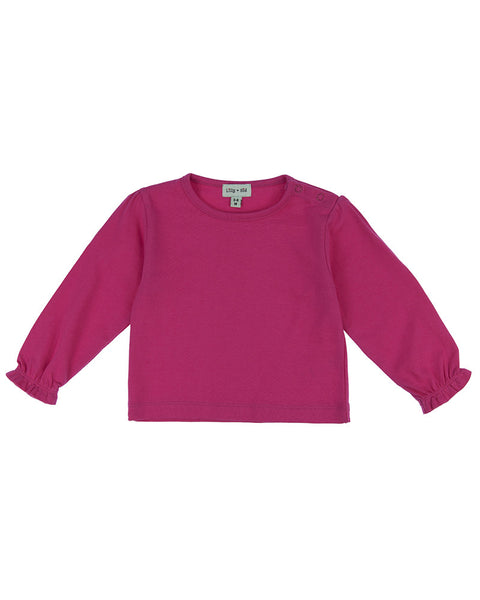 Lilly & Sid Pink Layering Top