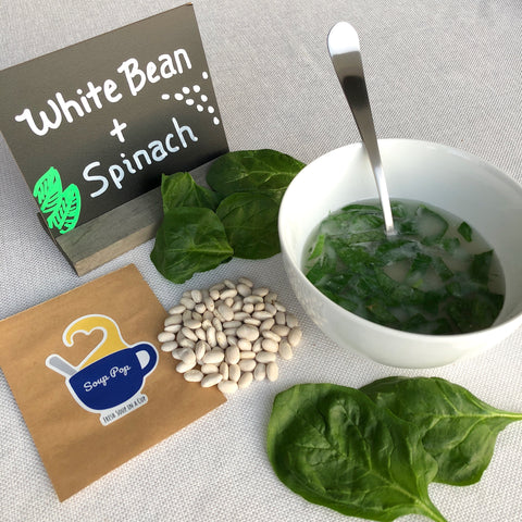 White Bean & Spinach Soup, Pack of 6