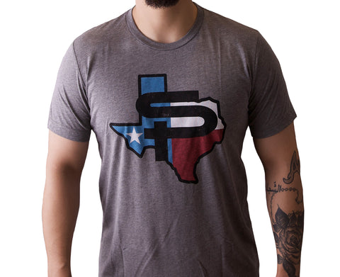 SP TEXAS TEE - GREY
