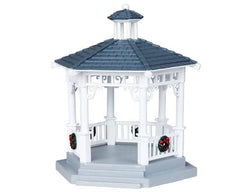 Lemax Christmas Village Plastic Gazebo #04160 Table Accent