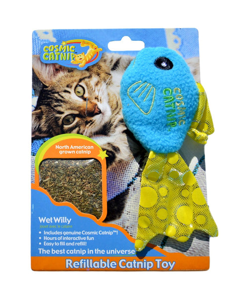 Cosmic Fish Catnip Toy