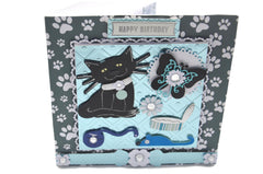 Cat & Mouse Friend Birthday Card
