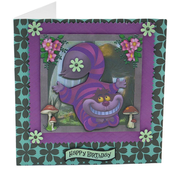 Cheshire Cat Birthday Card