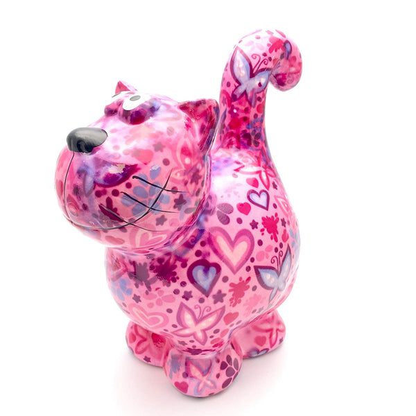 "Light Pink Ceramic Pomme Pidou ""Dorothy"" Cat Money Box"