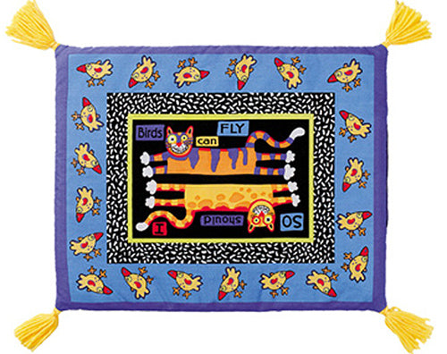 Foodie Boogie Catnip Mat for De'Cat® - Birds