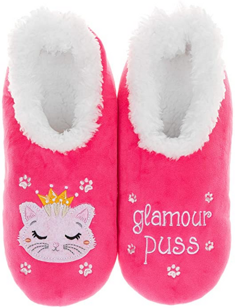 Glamour Puss Pink Cat Snoozies