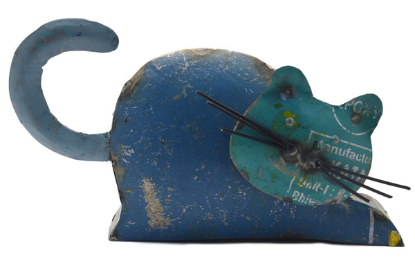 Eco Warriors Metal Lying Cat