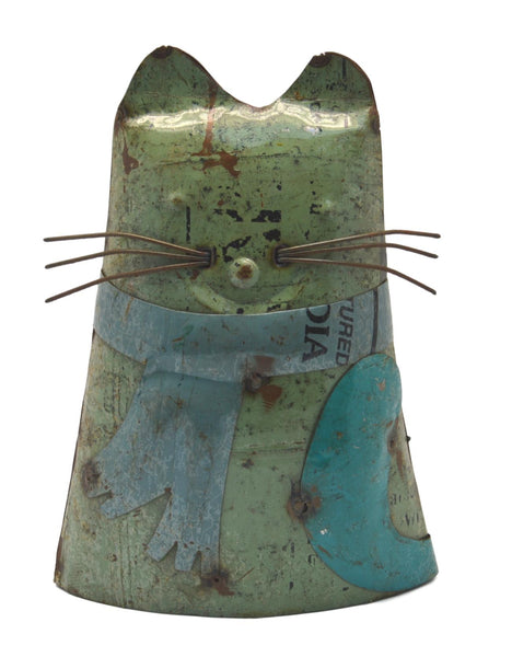 Eco Warriors Metal Standing Cat