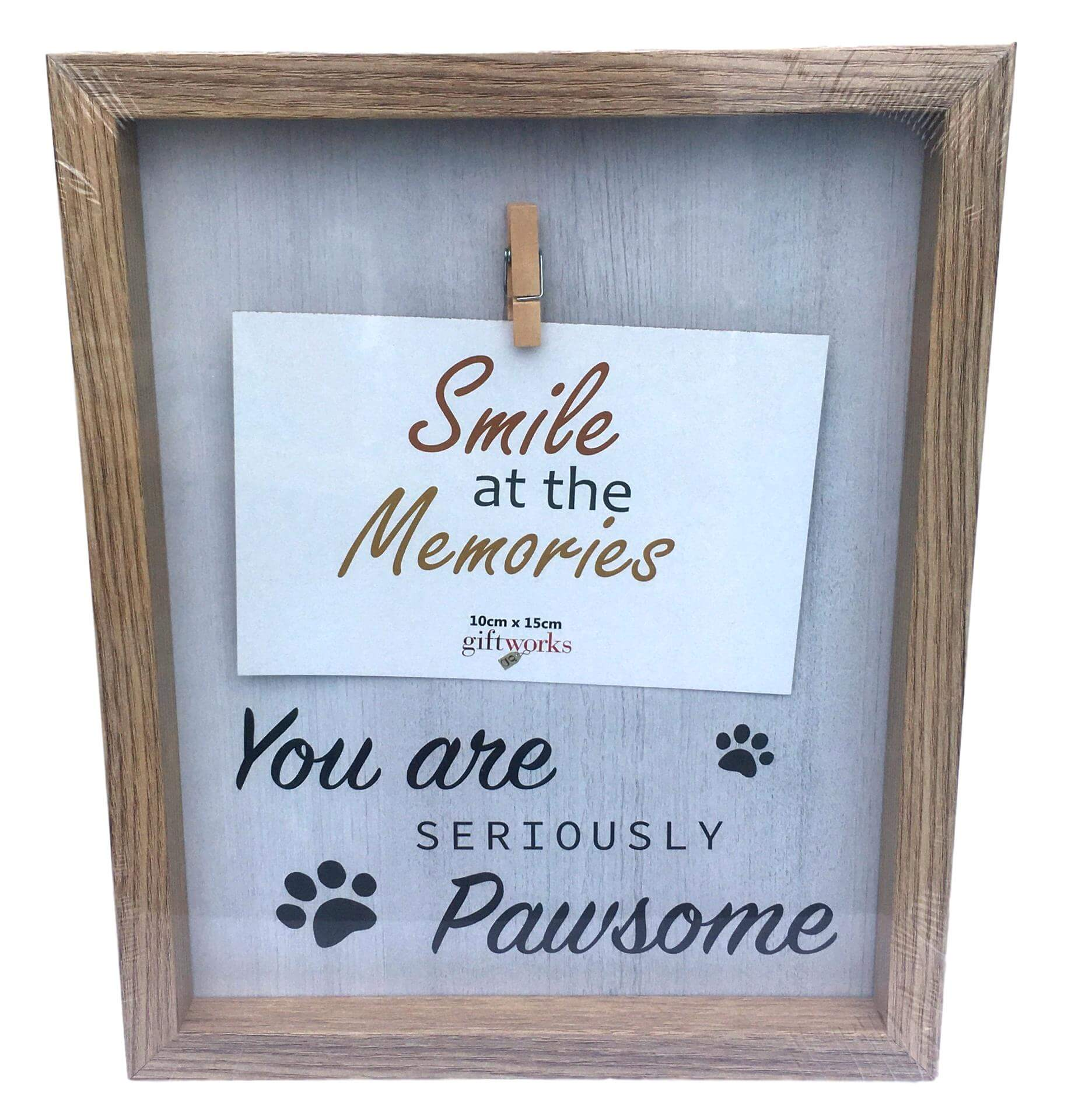 Pet Clip Wooden Photo Frame