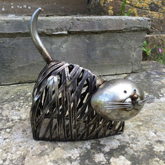 High Quality Metal Cat Statues