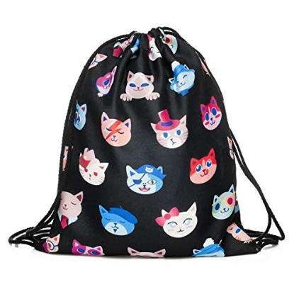Emo Cats String Backpack