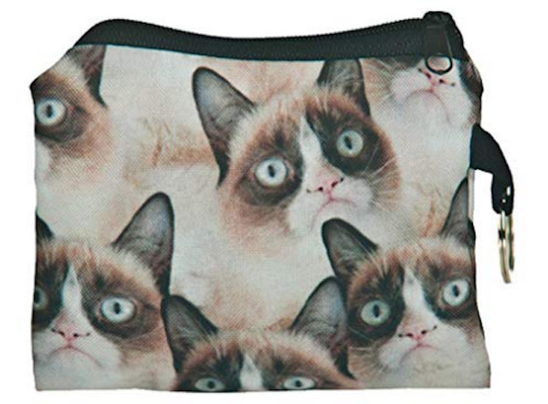 Grumpy Cat Small Coin Purse