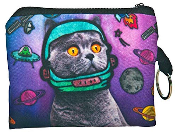 Space Cat Small Coin Purse