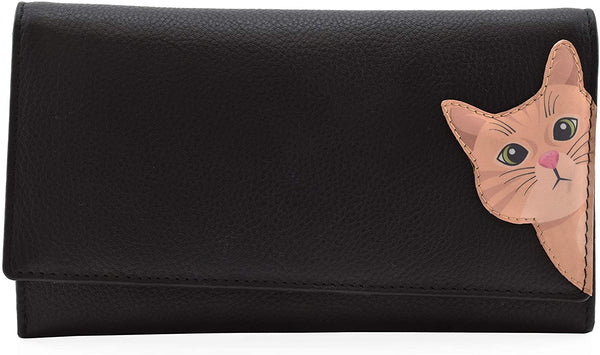 Cleo the Cat Matinee Purse Black