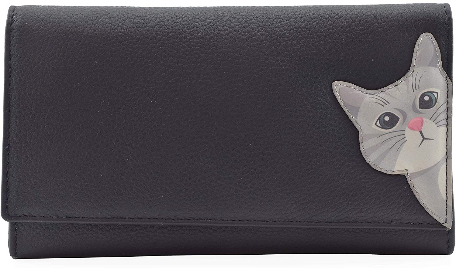 Cleo the Cat Matinee Purse Navy