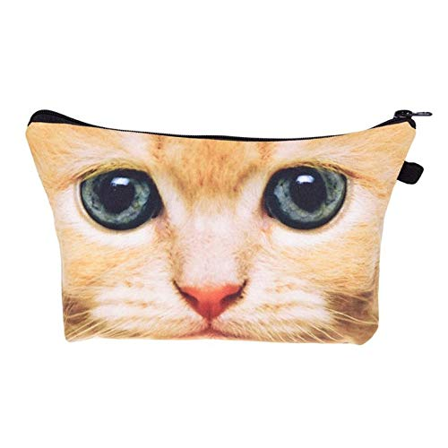Ginger Cat Make-Up / Clutch Bag
