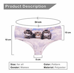 Cat Heaven Hipster Panties