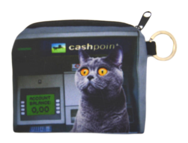 Cashpoint Cat Small Coin Purse