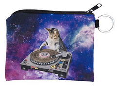 DJ Cats Small Coin Purse