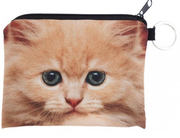Ginger Cat Small Coin Purse