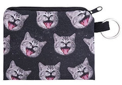 Galaxy Cats Small Coin Purse