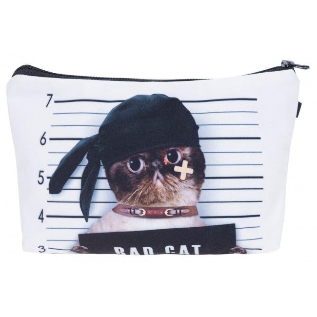Bad Cat Make-Up / Clutch Bag
