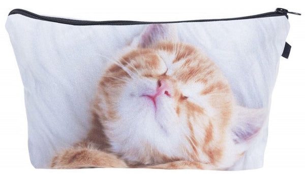 Cat Dreaming Make-Up / Clutch Bag