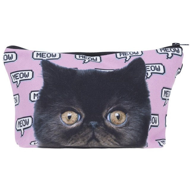 Meow Pixie Cat Make-Up / Clutch Bag